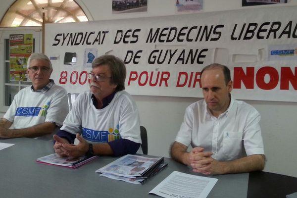 Les médecins à la maison domus à Cayenne