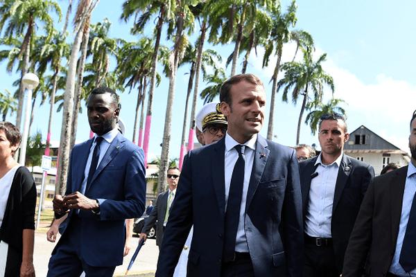 Emmanuel Macron a ouvert les Assises des Outre-mer en Guyane.