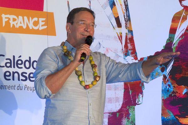 Provinciales 2019, Philippe Gomès au congrès de Calédonie ensemble le 20 avril, à Nouméa