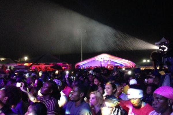 Festival de Saint Kitts 2ème soirée