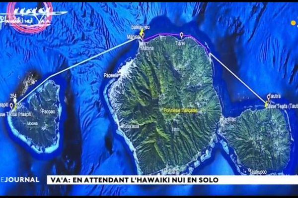 Va'a V1 : En attendant l'Hawaiki Nui en solo
