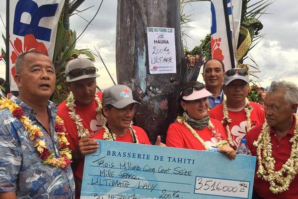 Concours de pêche Huahine