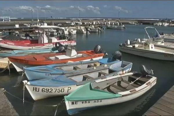 barques à Saint-Leu