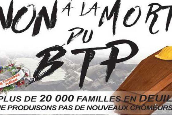 Affiche action BTP