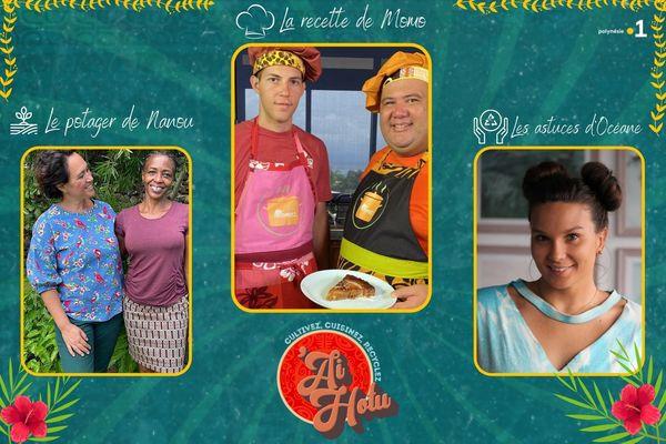 'Ai hotu #21 : gâteau ananas au lait de coco, le corrosol dans votre potager et et l'astuce recyclage