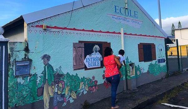Ecole du centre de Bras-Panon mars 2019