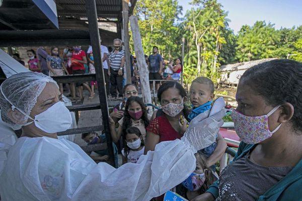 Recrudescence de la pandémie dans l'état d'Amazonas