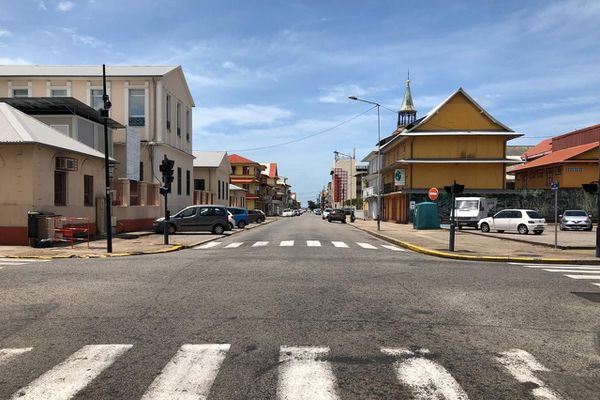 Cayenne ville morte