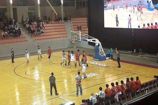 Oceania basket U17, Calédonie-Cook, 18 août, Païta