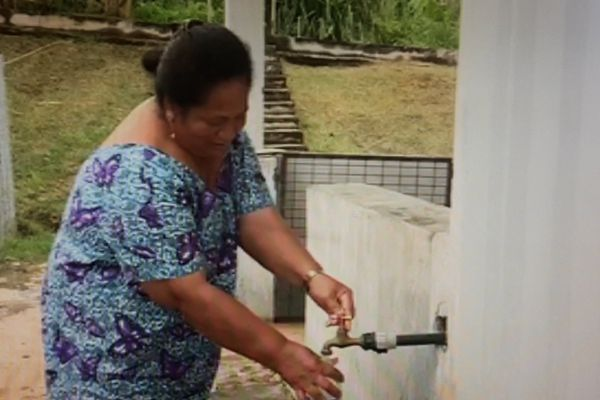 Les futuniens s'alimentent en eau potable à l'hôpital