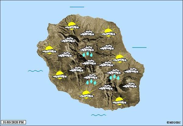 Carte météo 1er Avril 2020