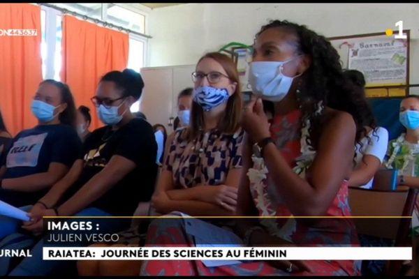 Journée des sciences au féminin à Raiatea