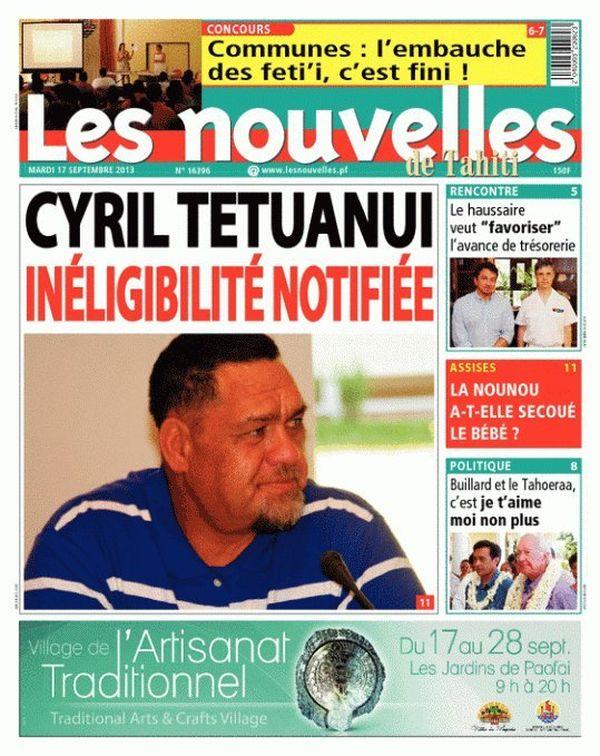 Nouvelles de Tahiti