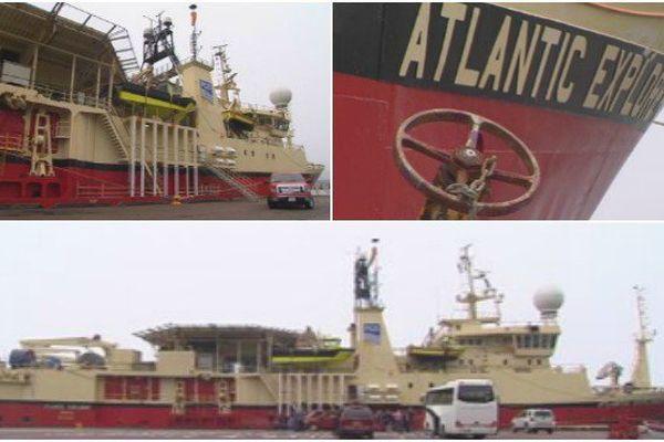 L'Atlantic Explorer cartographie les fonds marins