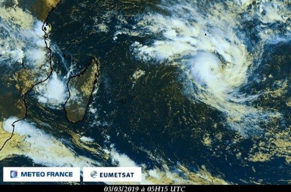 haleh forte tempête tropicale sat 10h 030319