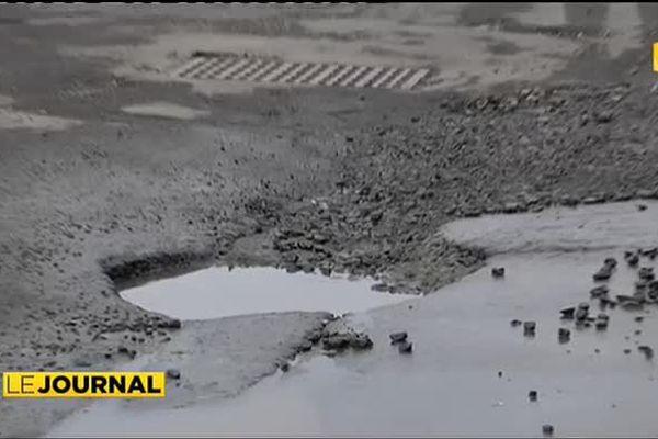 Intempéries : les routes partent à vau l'eau