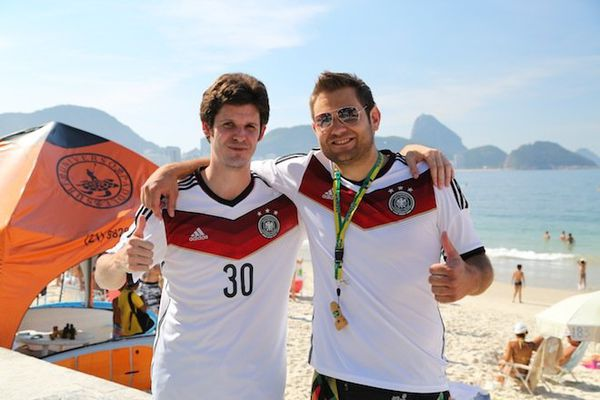 Supporters Allemagne Copacabana