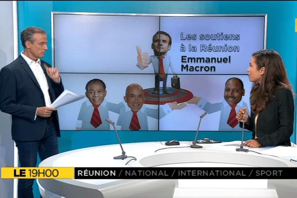 Le+, soutiens de Emmanuel Macron