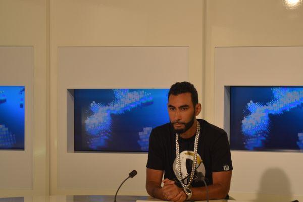 la Fouine studio télé
