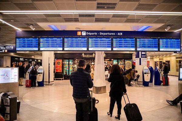 aéroport / passagers