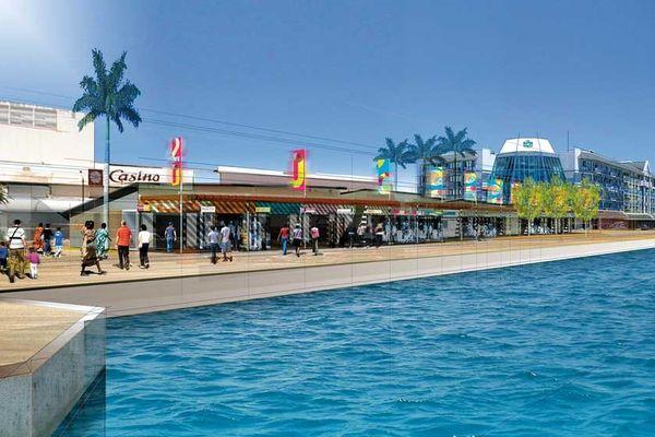 Les quais de Nouméa centre (quai Jules Ferry)
