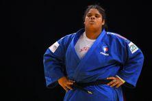 La judoka réunionnaise Léa Fontaine au Paris Grand Slam Judo, en 2020.