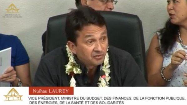 Le ministres des finances a défendu son budget