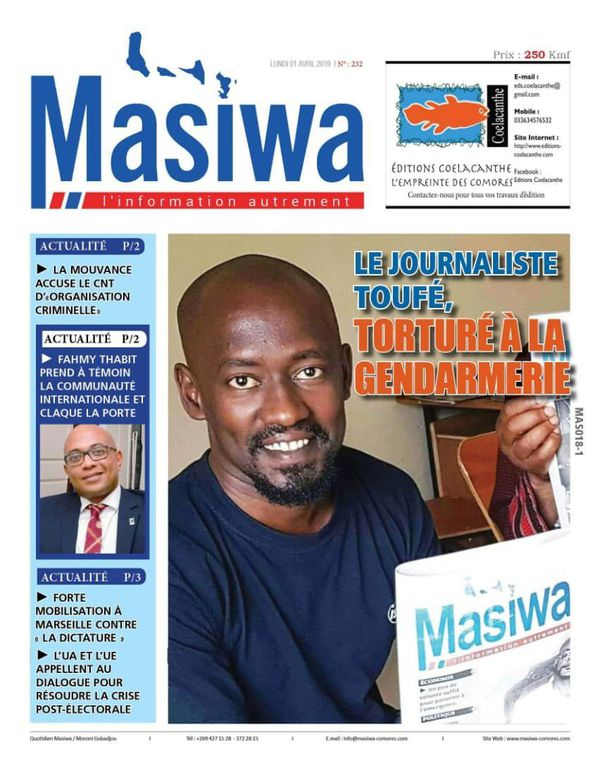 Journal Massiwa