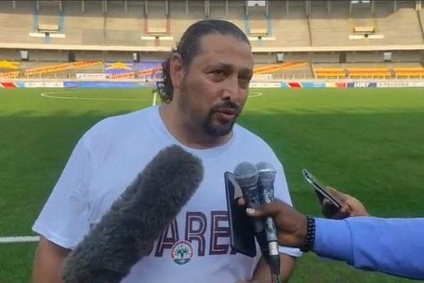 Eric Rabesandratana, sélectionneur de l'équipe de football de Madagascar