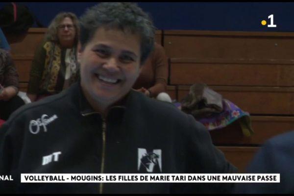 Marie Tari, entraîneuse du MO Mougins