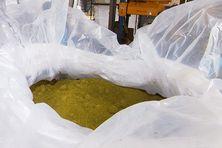 Hydroxyde de nickel intermédiaire (MHP-NHC) de qualité batterie produit par l'Usine du Sud (Prony Resources) en Nouvelle-Calédonie