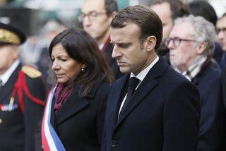 Emmanuel Macron et Anne Hidalgo