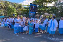 Des milliers de fidèles ont convergé vers La Conception