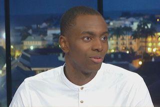 Le basketteur professionnel Livio Jean-Charles champion de France avec son club  l'ASVEL 6 7 19