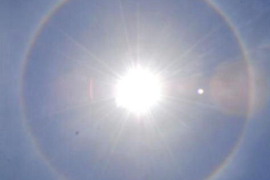 Un halo solaire observé dans le ciel guadeloupéen - Guadeloupe la 1ère
