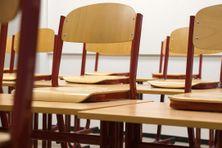 Salle de classe d'une école primaire.
