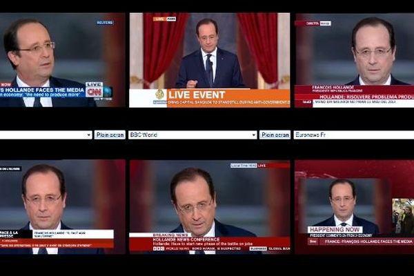Conf presse Hollande