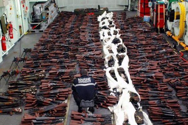 Saisie d'armes