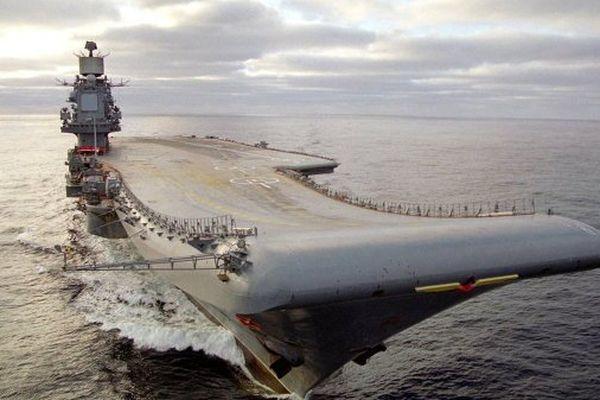 Porte avion russe