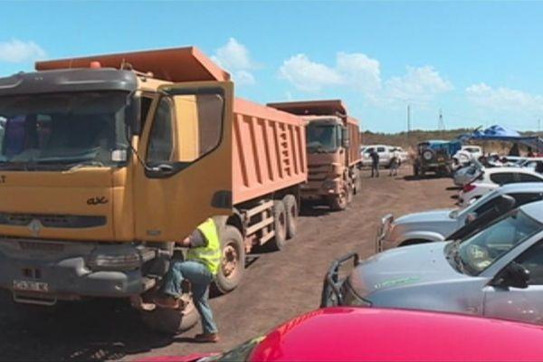 Grève mine de Karembé Koumac Minex 21 août 2017