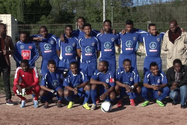 Les mahorais de Marseille nous présentent leurs voeux pour 2015. 2ème volet. Le football.