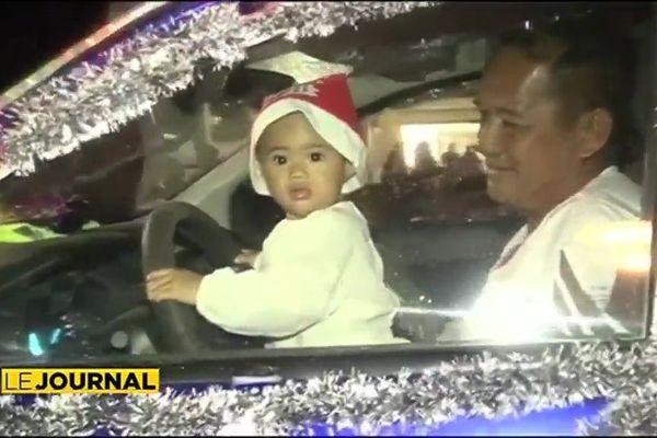Uturoa : une parade pour Noël