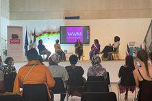 De nombreux thèmes ont été abordés sur l'émancipation des femmes.