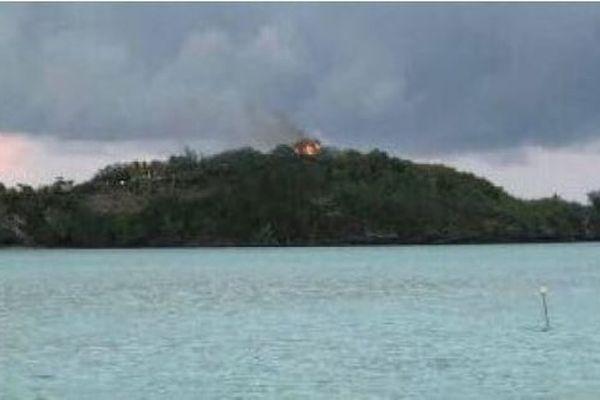 Incendie de Bora Bora
