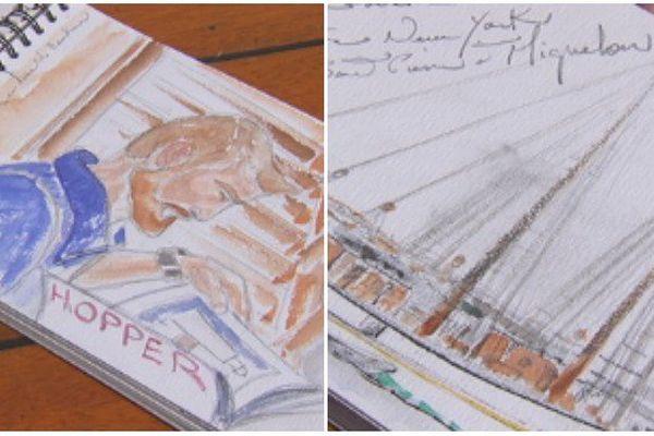 portraits et paysages signés Râmine