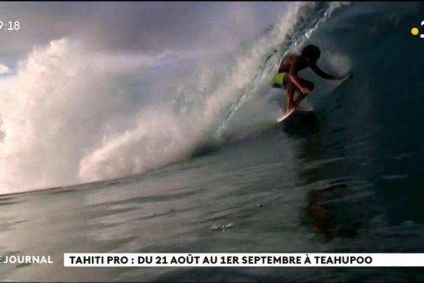 La Tahiti pro en exclusivité sur la 1ère entre le 21 août et le 1er septembre