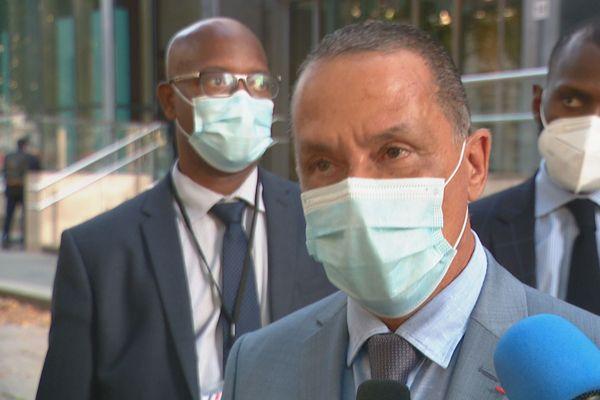 Rodolphe Alexandre à la sortie de sa rencontre avec le ministre de la Santé