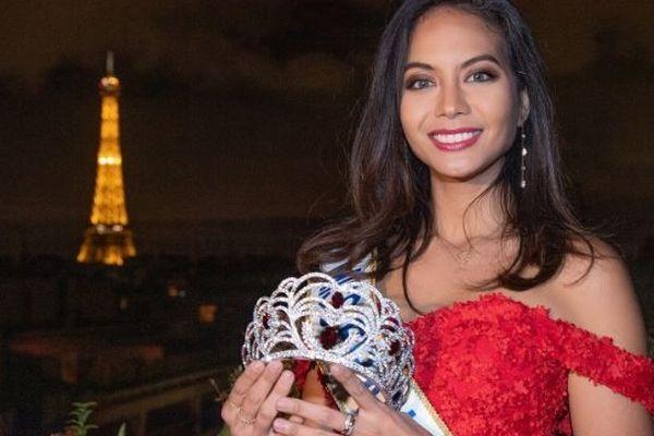 Miss France 2019 : Vaimalama Chaves dévoile la couronne signée Julien d'Orcel