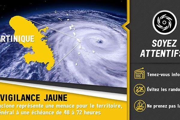 Vigilance jaune Cyclonique (New)