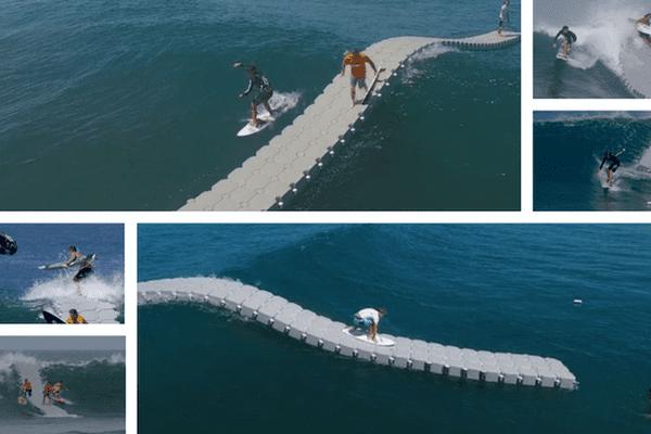 the dock / pont